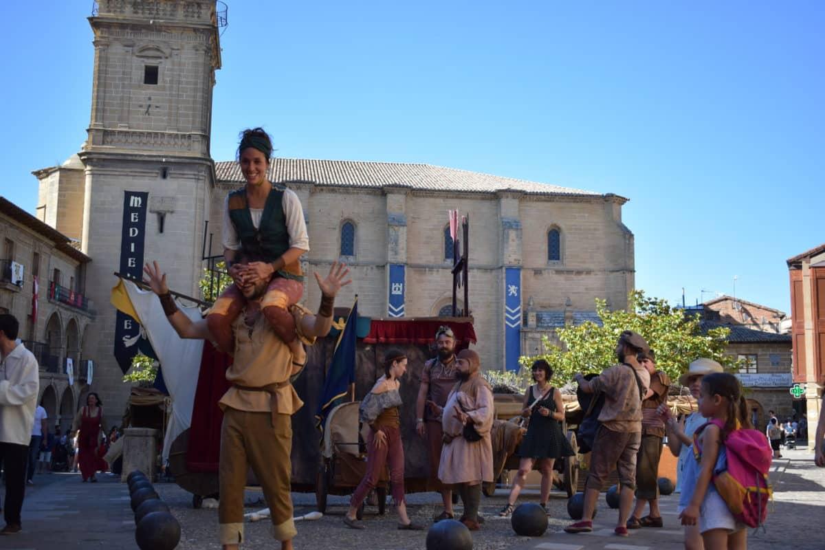 Las imágenes del primer día de las Jornadas Medievales de Briones 2017 2