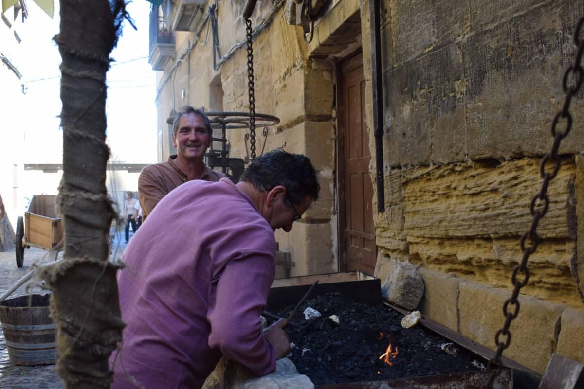 Las imágenes del primer día de las Jornadas Medievales de Briones 2017 1