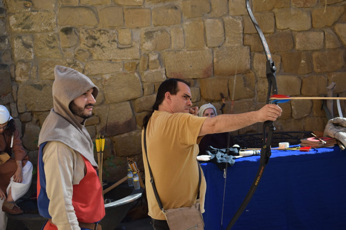 Las imágenes del primer día de las Jornadas Medievales de Briones 2017 21