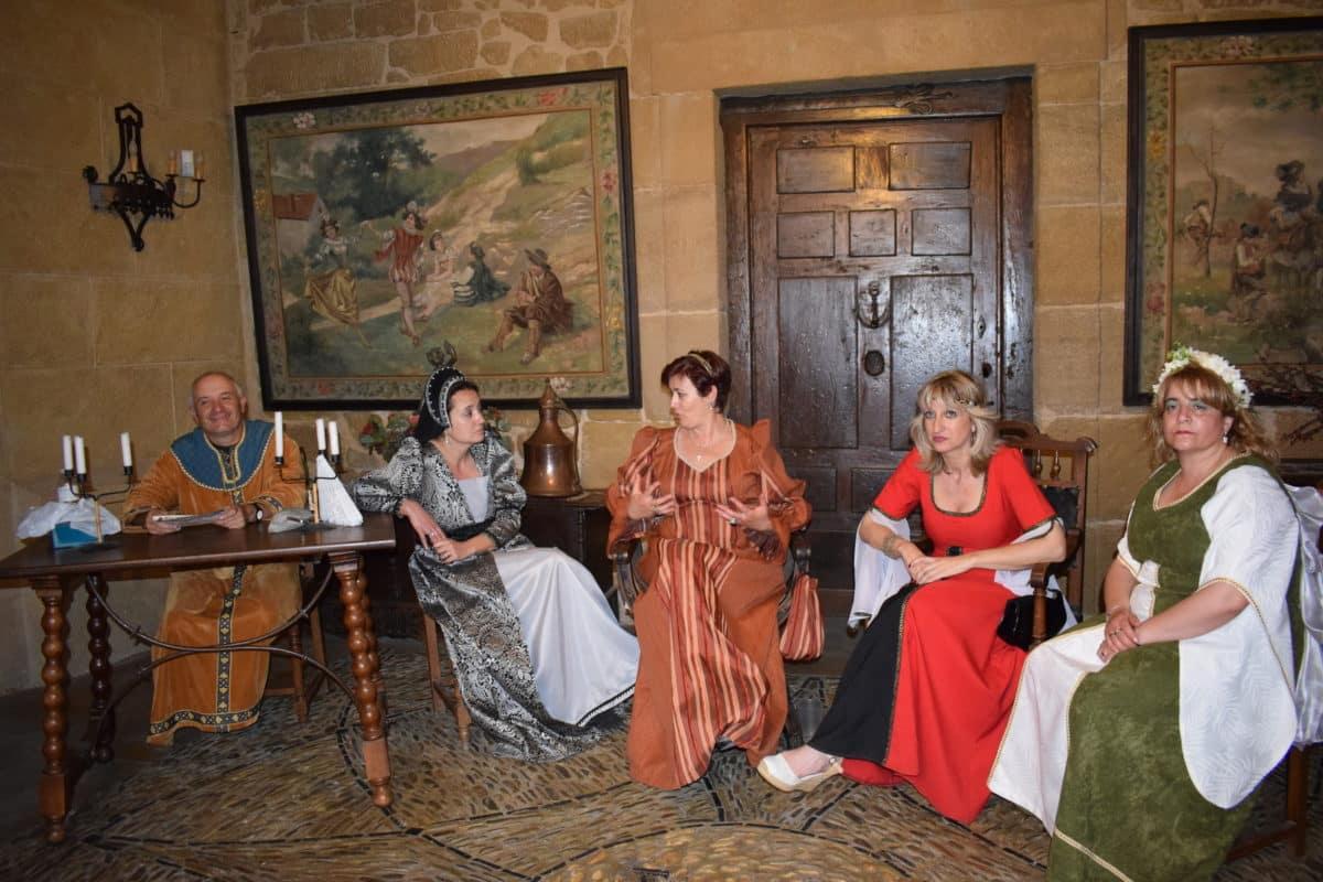 Las imágenes del primer día de las Jornadas Medievales de Briones 2017 20