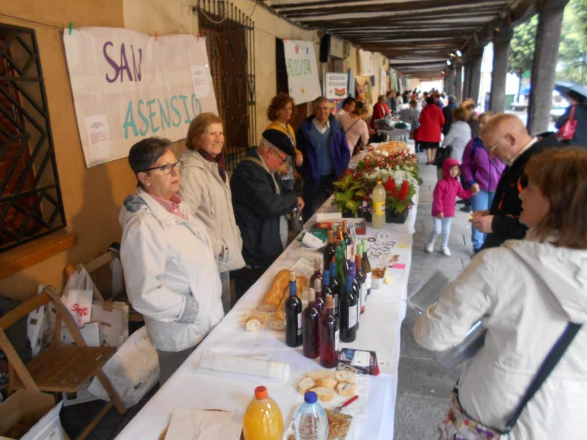 Nueva edición del Mercado Solidario de Santo Domingo de la Calzada 1