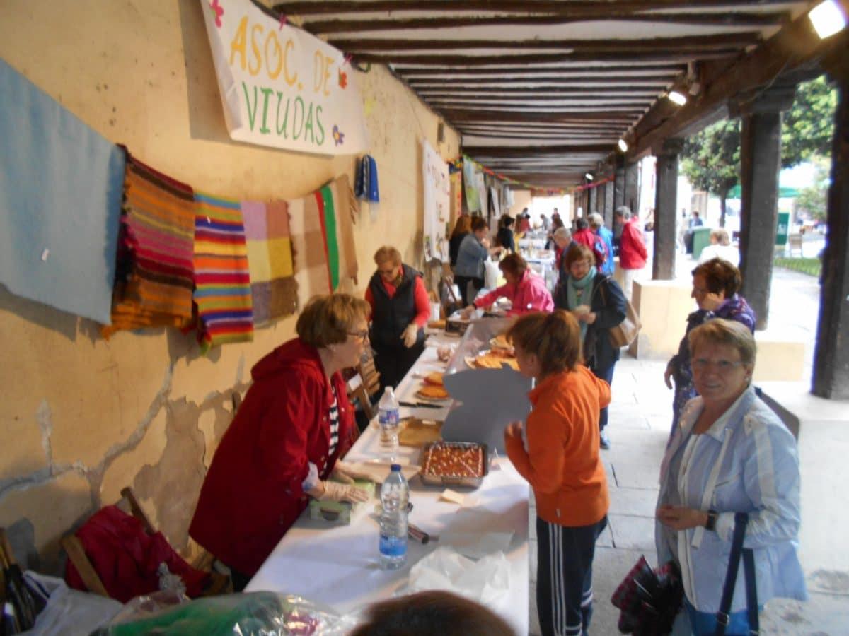 Nueva edición del Mercado Solidario de Santo Domingo de la Calzada 2