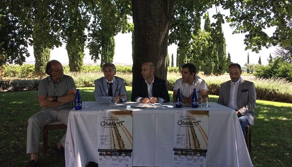 'Clássica 2017': cinco conciertos de música antigua en Casalarreina entre el 18 y 22 de agosto 2