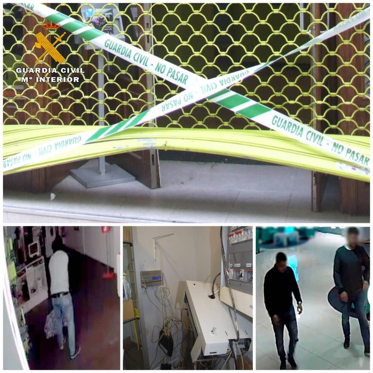 Detenido un grupo criminal que robó en una tienda de telefonía móvil de Haro hasta en dos ocasiones 1