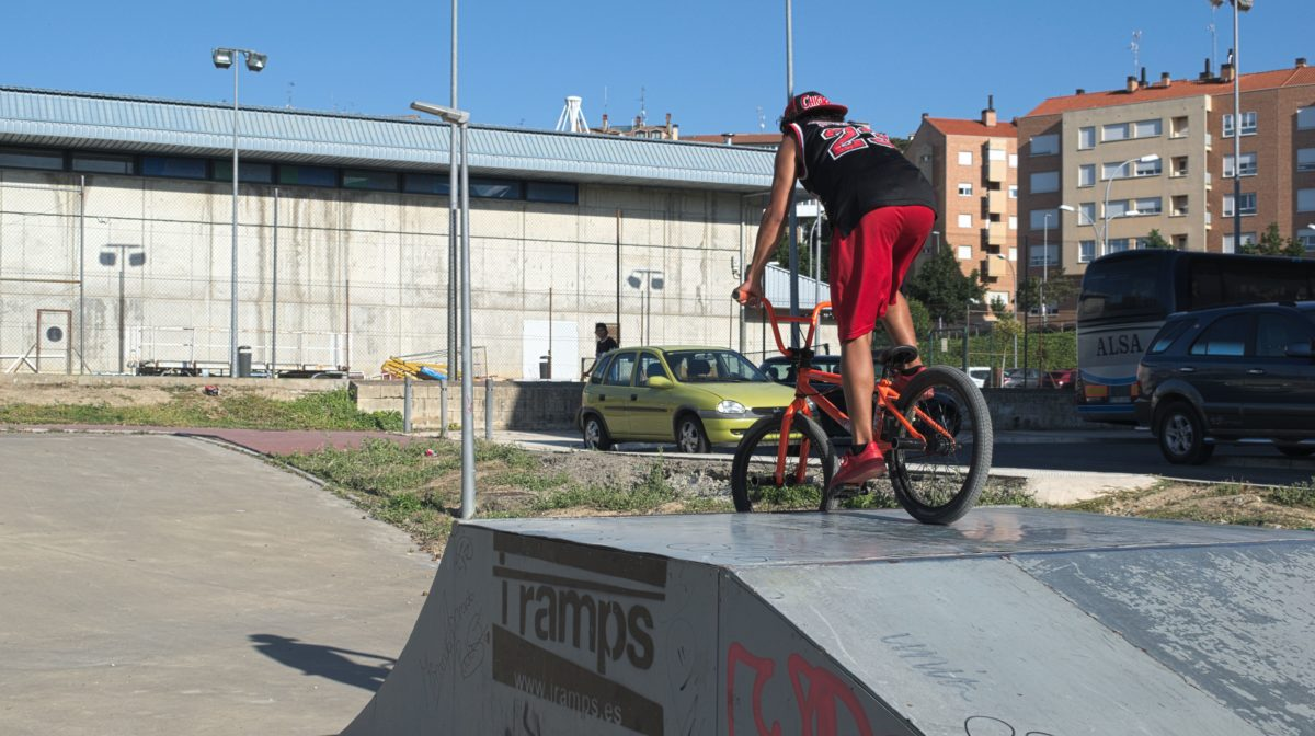 """La asociación juvenil Bike Park Haro pide un """"mínimo mantenimiento"""" del 'skatepark' 12"""