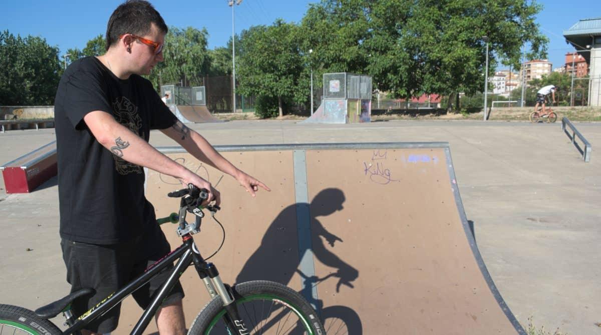 """La asociación juvenil Bike Park Haro pide un """"mínimo mantenimiento"""" del 'skatepark' 2"""