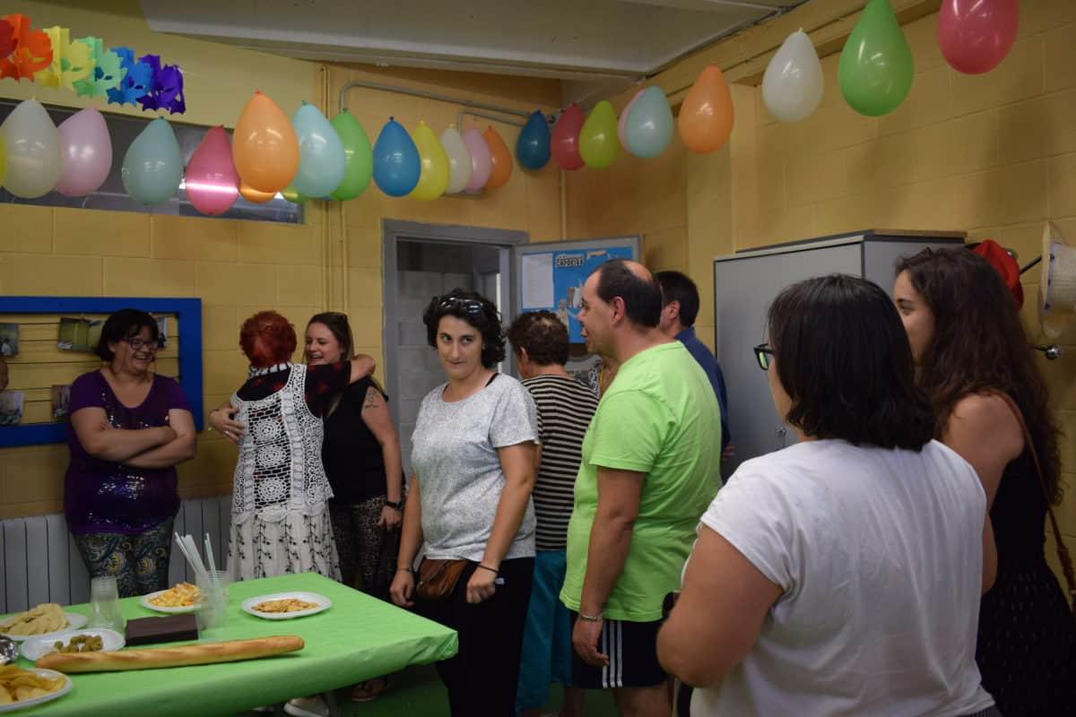 Las imágenes de la reinauguración del centro de ocio de Asprodema en El Mazo 3