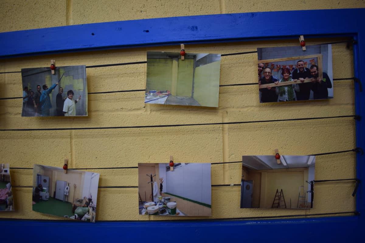 Las imágenes de la reinauguración del centro de ocio de Asprodema en El Mazo 7