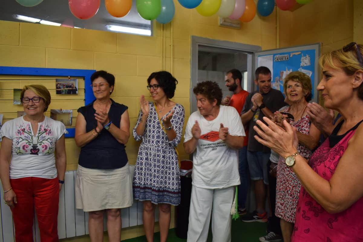 Las imágenes de la reinauguración del centro de ocio de Asprodema en El Mazo 11