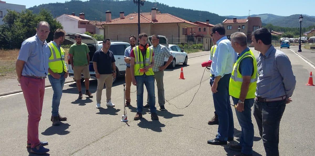 Detectadas 280 fugas de agua en las redes de la cuenca del Oja-Tirón en dos años 1