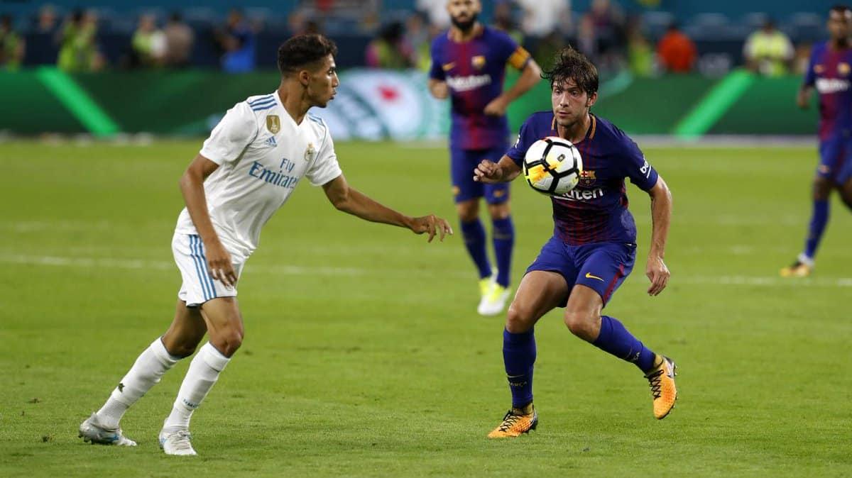 Miami celebró los goles del 'clásico' Madrid-Barça con Rioja 1