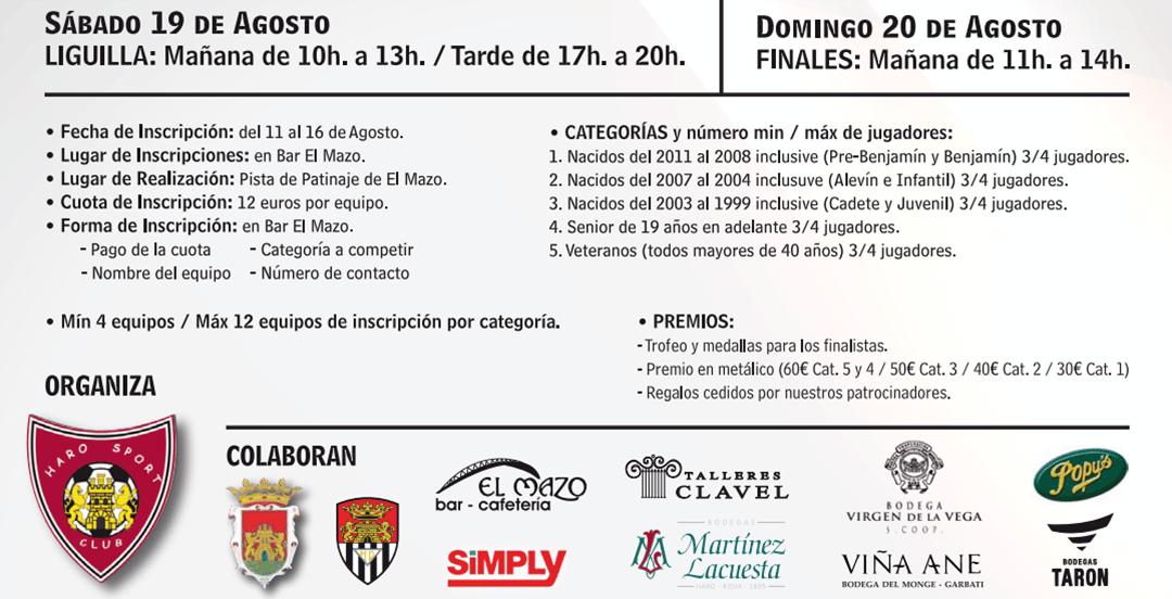 Abierto el plazo de inscripción para el Torneo 3x3 del Haro Sport Club 1