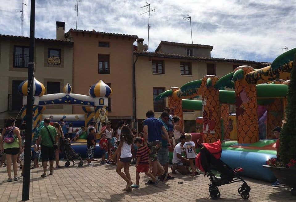 Casalarreina carga pilas para sus fiestas de San Vitores 1