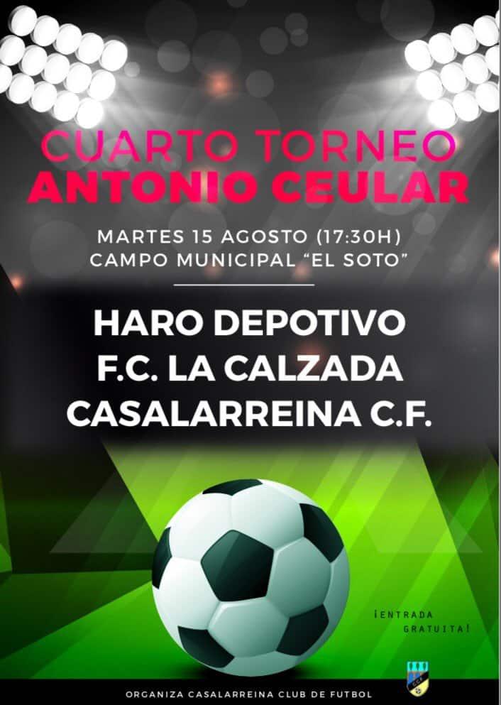 El Torneo Antonio Ceular regresa este martes 2