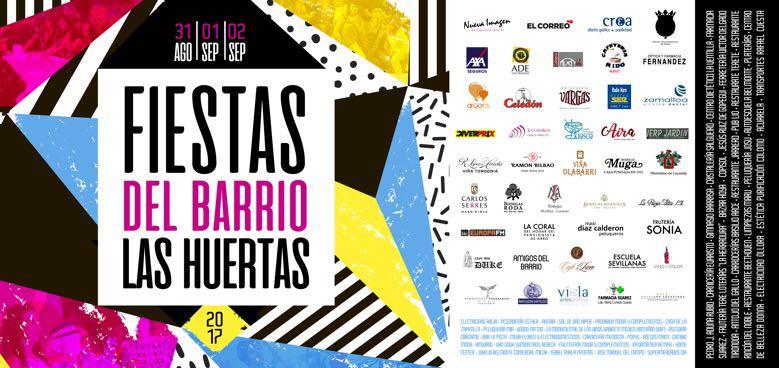El programa de las Fiestas del Barrio de las Huertas 2017 6