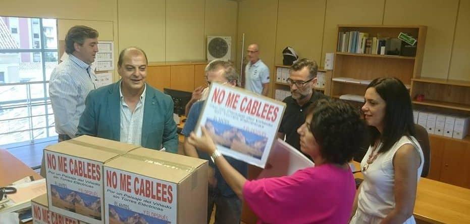 Se abre la vía parlamentaria para la ILP en defensa del paisaje del viñedo 2