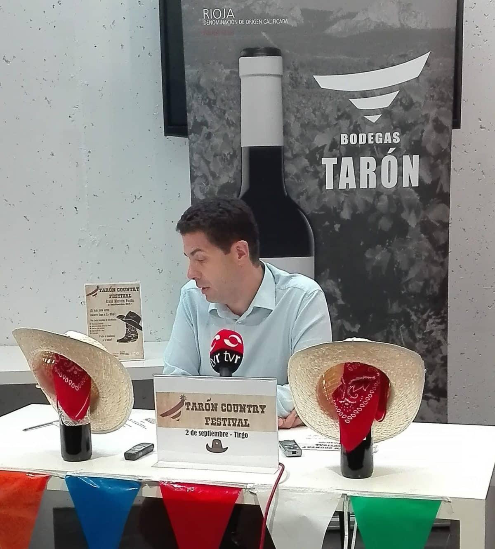 Tarde de vino y country este sábado en Bodegas Tarón de Tirgo 1