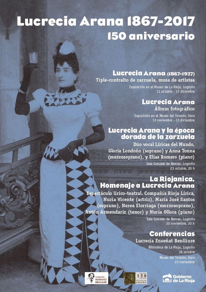 Exposiciones, recitales y conferencias difundirán la figura de la artista jarrera Lucrecia Arana 2