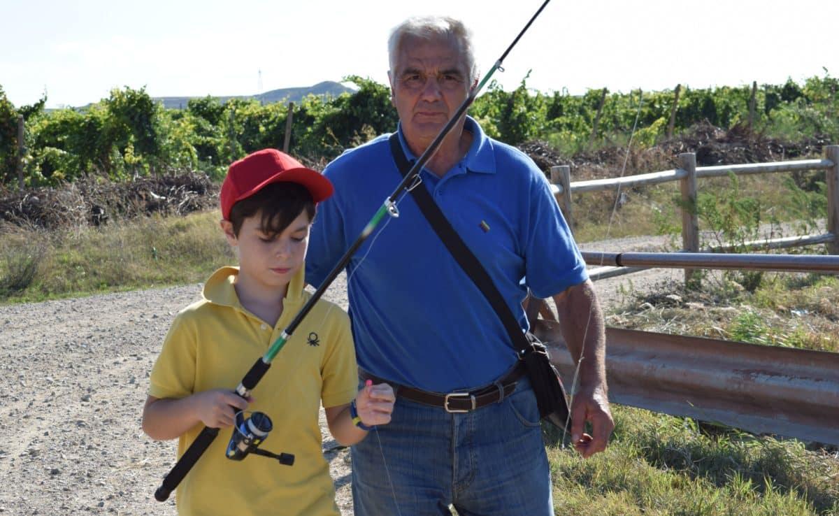 Casi 40 niños participan en los Concursos de Pesca de la Sociedad Riojalteña de Caza y Pesca 8