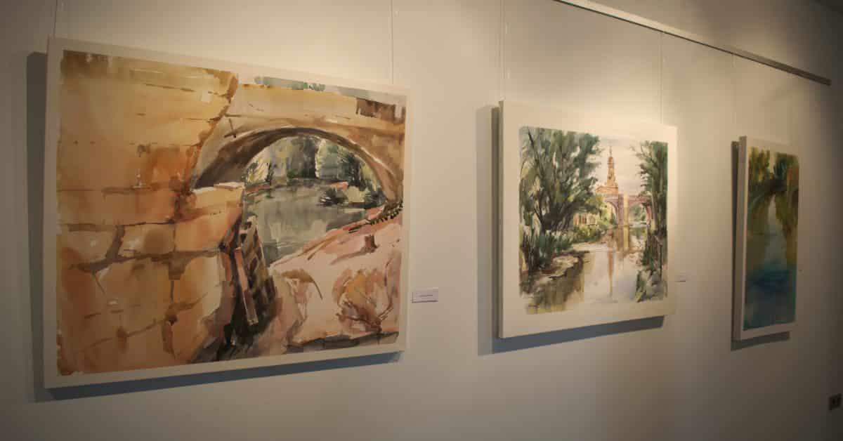 El Museo del Torreón de Haro muestra las acuarelas seleccionadas en el Concurso de Pintura Paisaje del Viñedo de La Rioja 2017 1