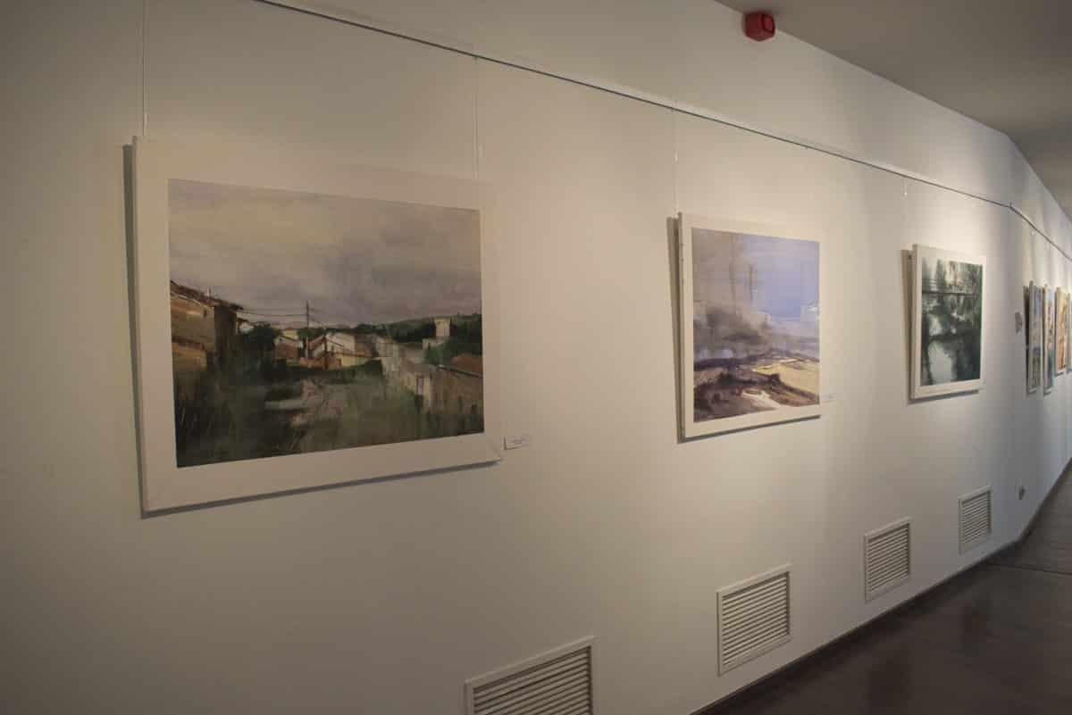 El Museo del Torreón de Haro muestra las acuarelas seleccionadas en el Concurso de Pintura Paisaje del Viñedo de La Rioja 2017 2