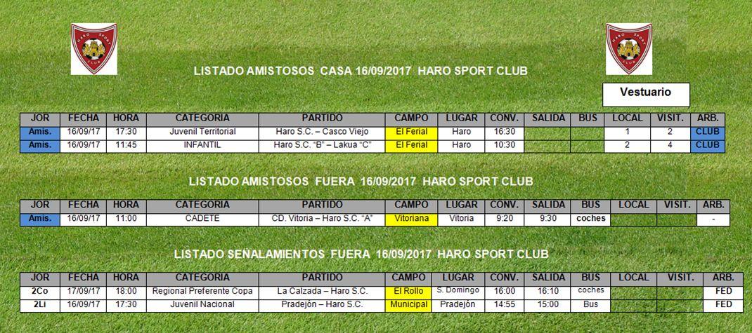 Haro Sport Club y La Calzada se ven las caras este domingo en la Copa Federación 1