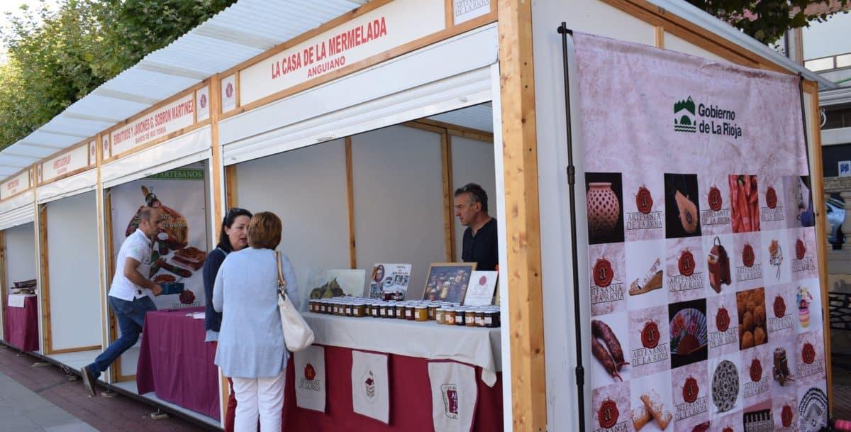 Inaugurada en Haro la Feria de Artesanía Artística y Agroalimentaria Riojana 1