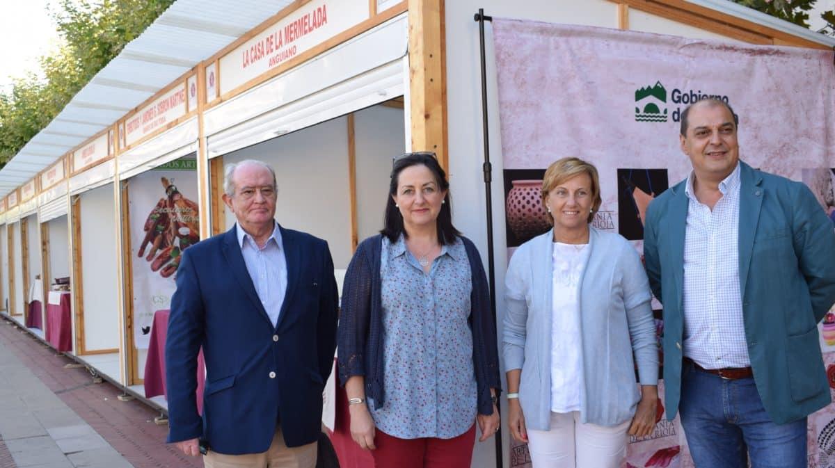 Inaugurada en Haro la Feria de Artesanía Artística y Agroalimentaria Riojana 5