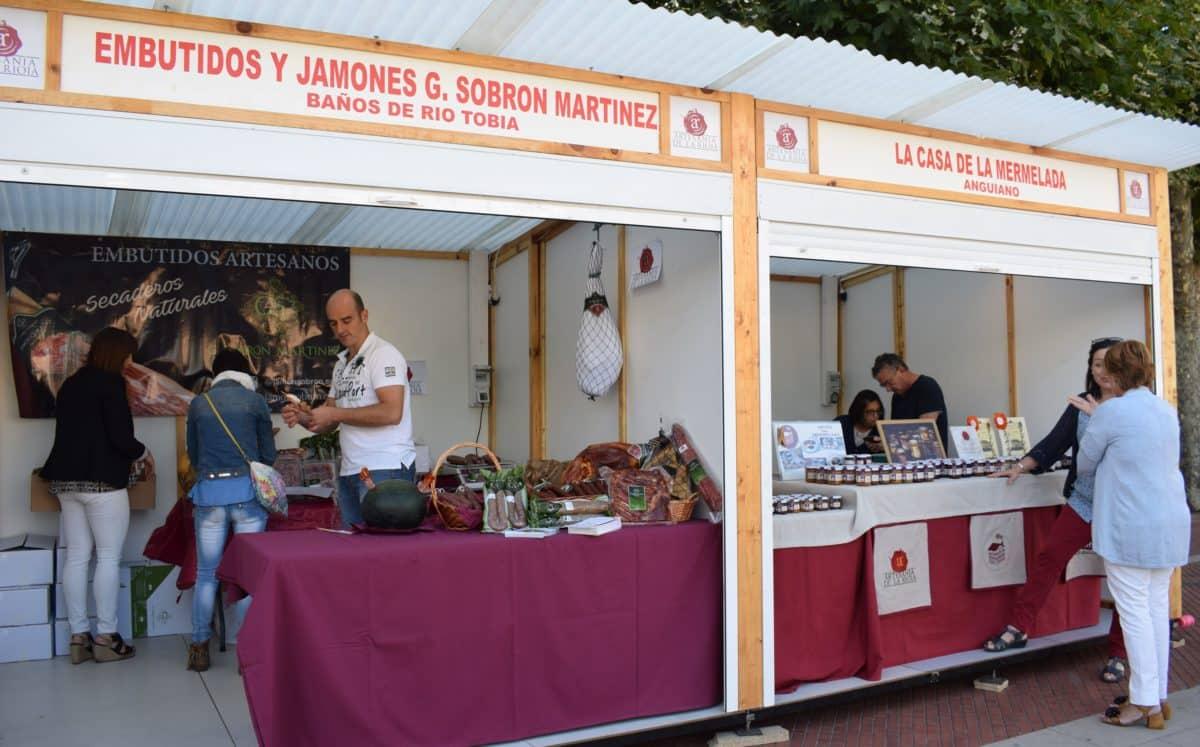 Inaugurada en Haro la Feria de Artesanía Artística y Agroalimentaria Riojana 6