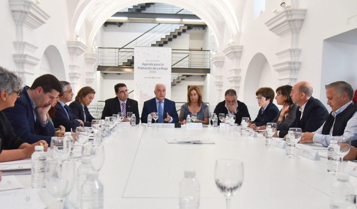 La mesa de alcaldes participará en la toma de decisiones para hacer frente al reto demográfico 2