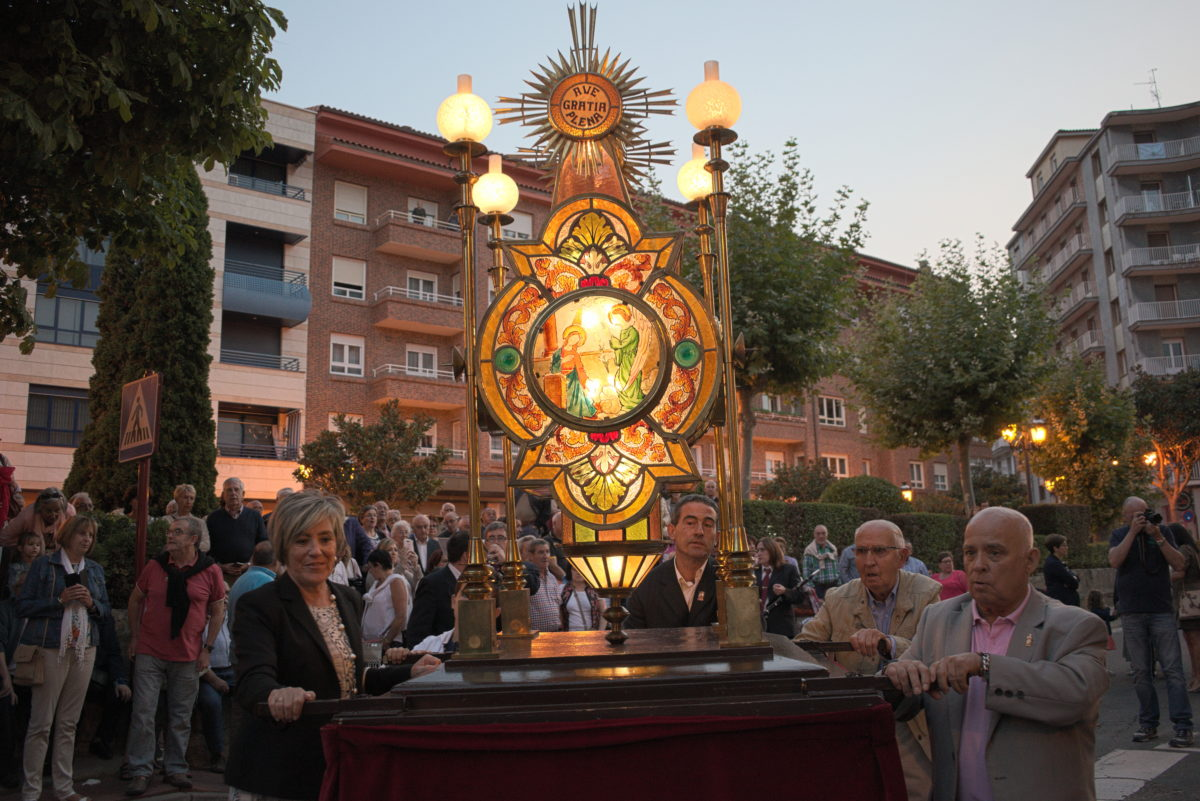 Cofradía de la Virgen de la Vega y Ayuntamiento de Haro abordan futuras acciones con motivo del Centenario del Rosario de Faroles 1