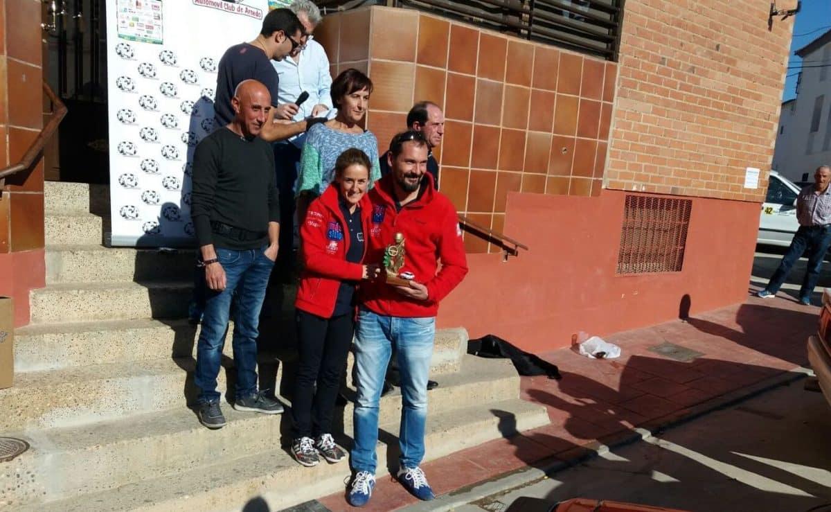 Álvaro Tecedor y Adelaida Alútiz, primeros riojanos en la I Ruta de Regularidad Valle del Alhama-Linares 1