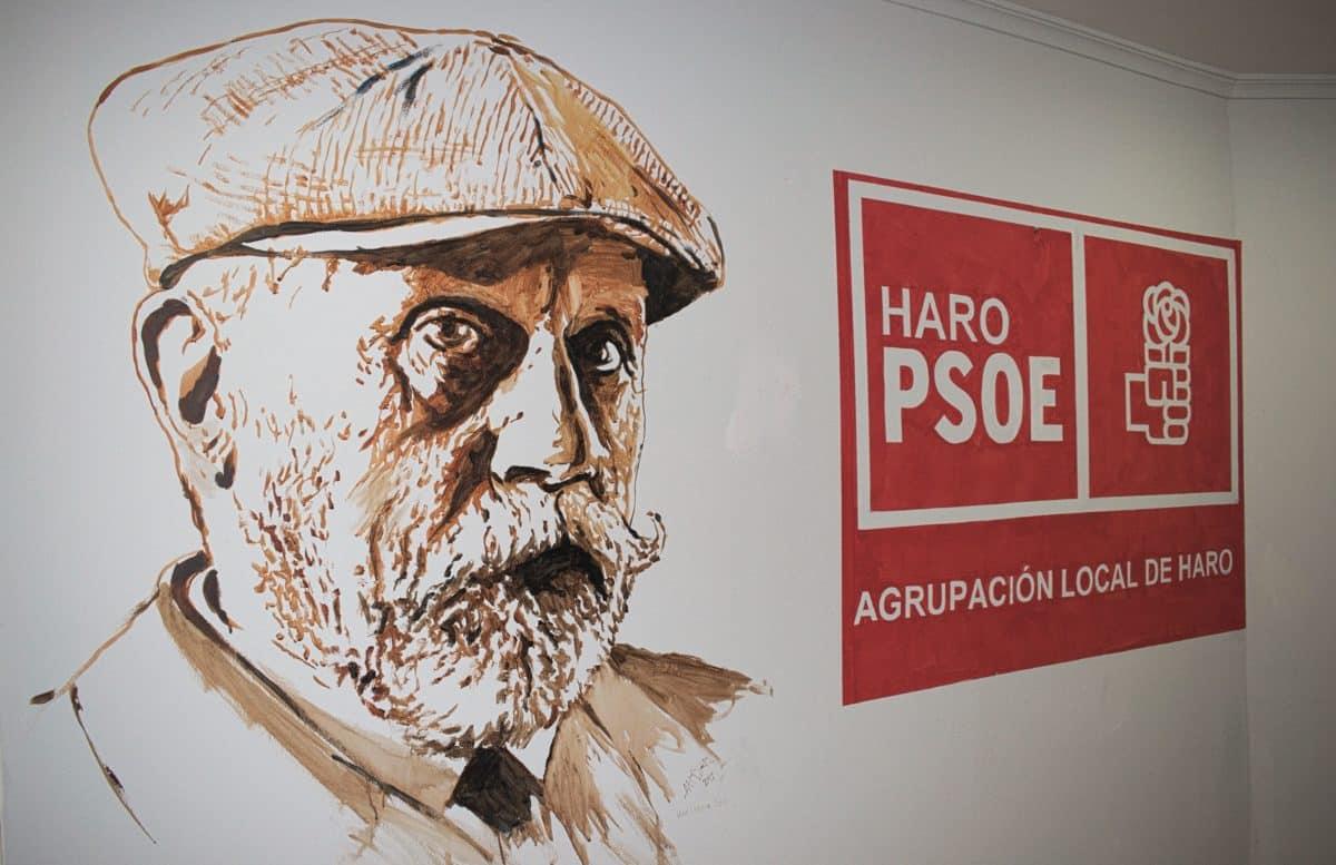 Ángel Conde, reelegido secretario general de la Agrupación Socialista de Haro 1