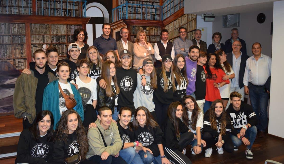 El Ayuntamiento de Haro homenajea a los alumnos de Harteraphia 2