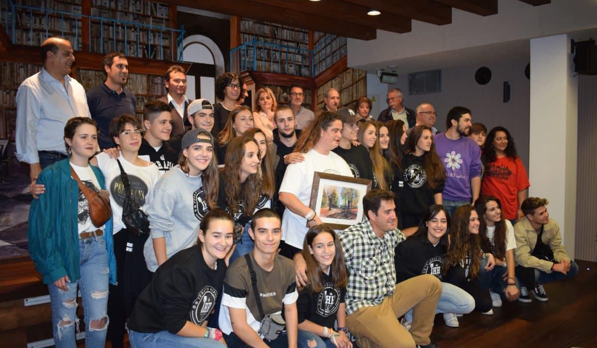 El Ayuntamiento de Haro homenajea a los alumnos de Harteraphia 7