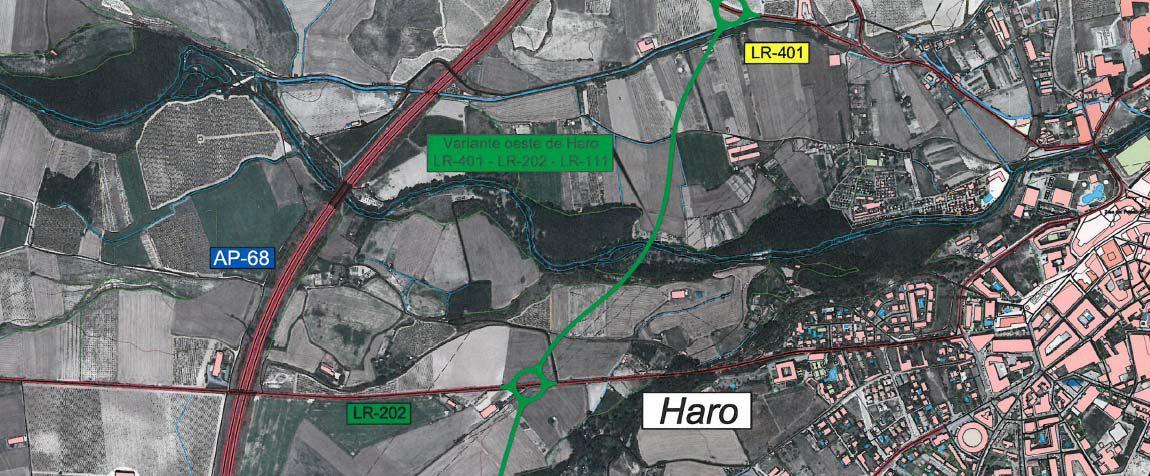 El Ayuntamiento mantiene su apuesta por la Ronda Sur de Haro cuando se libere la AP-68 3