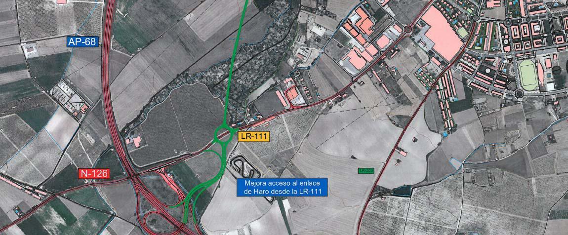 El Ayuntamiento mantiene su apuesta por la Ronda Sur de Haro cuando se libere la AP-68 2