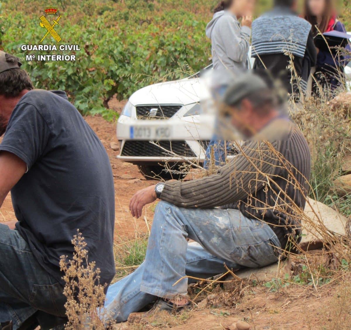 Golpe de la Guardia Civil a la explotación laboral en La Rioja 1