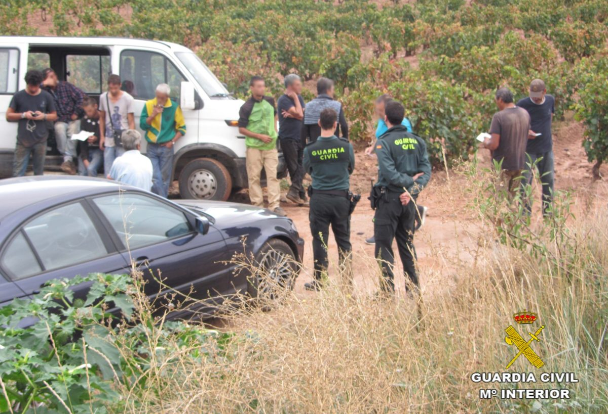 Golpe de la Guardia Civil a la explotación laboral en La Rioja 3
