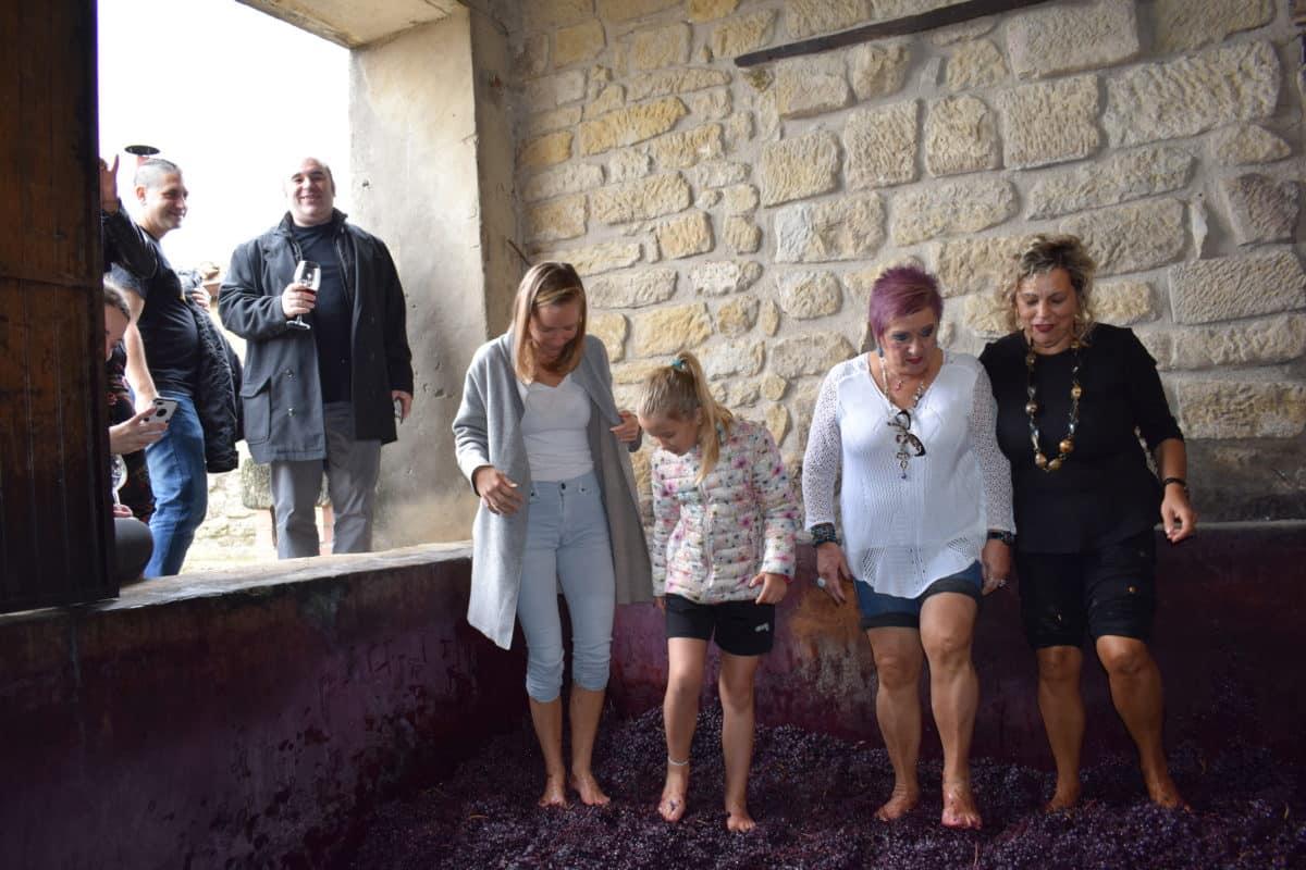 La fiesta del pisado de la uva de Bodegas Lecea 11