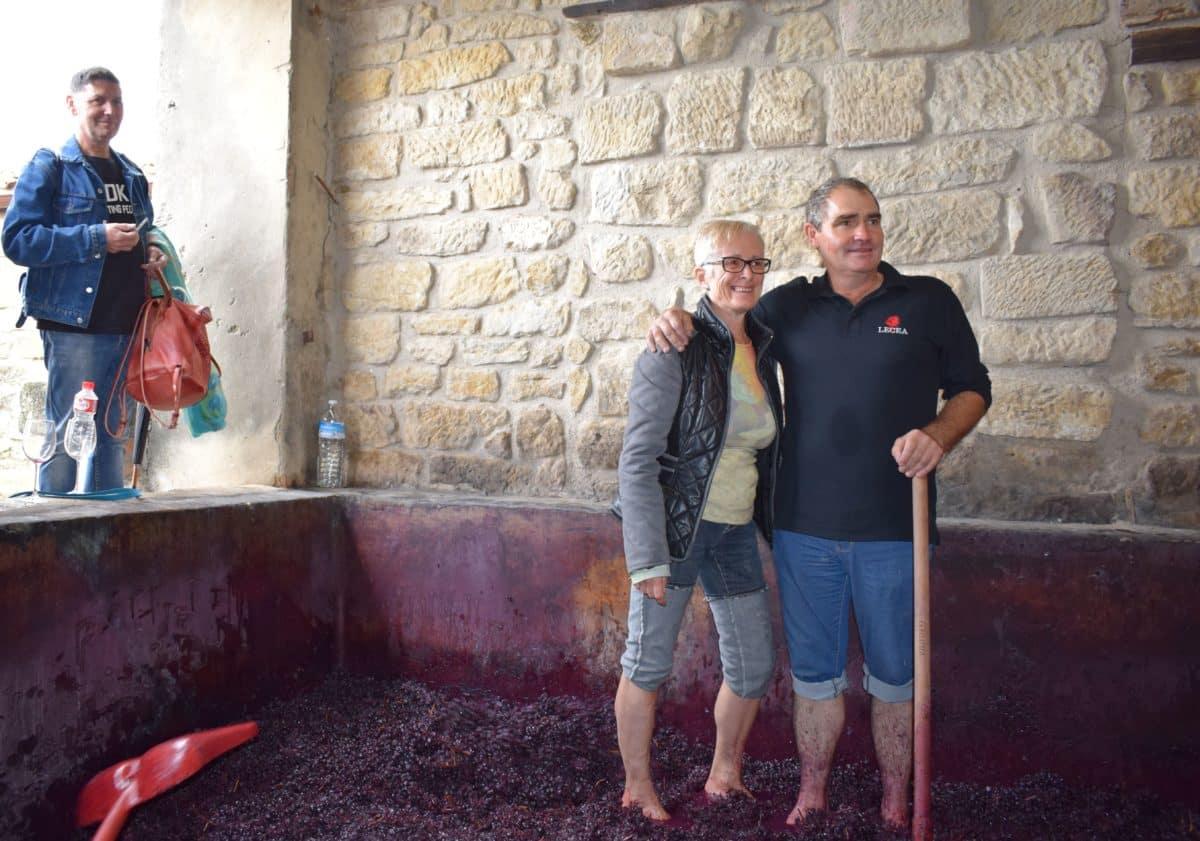 La fiesta del pisado de la uva de Bodegas Lecea 16