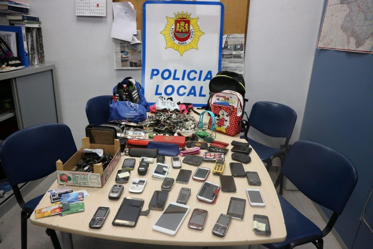 Llamamiento de la Policía Local de Haro a sus ciudadanos para recuperar objetos perdidos 1