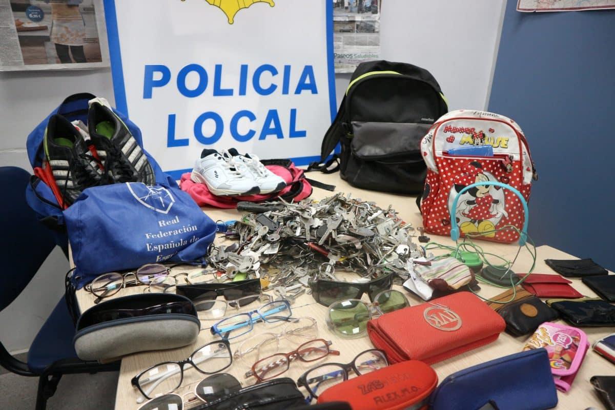 Llamamiento de la Policía Local de Haro a sus ciudadanos para recuperar objetos perdidos 3