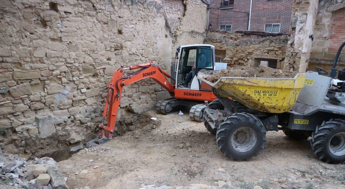 Se inician las obras del aparcamiento de la calle Santiago 2