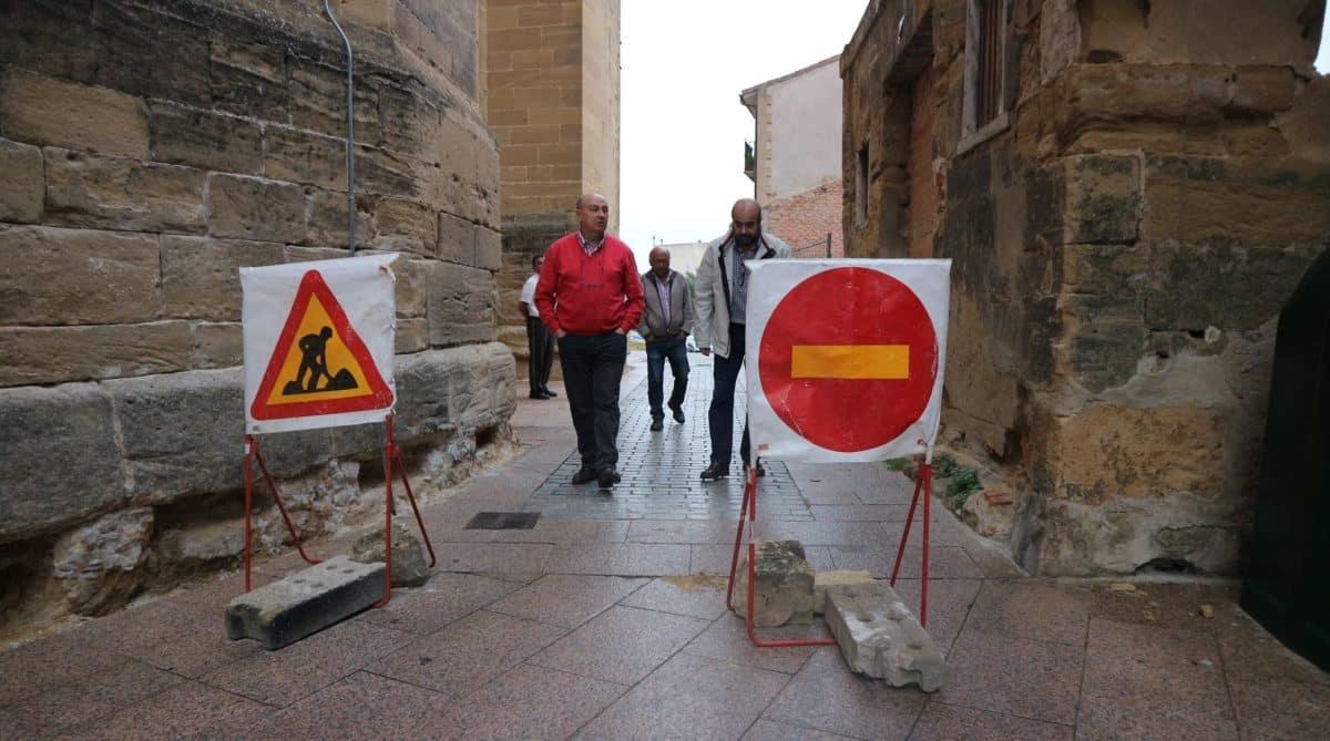 Se inician las obras del aparcamiento de la calle Santiago 3