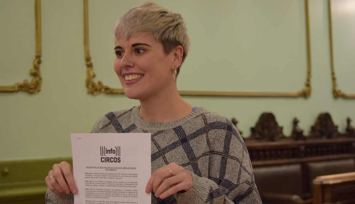 Ana María Domínguez estrena la participación ciudadana en los plenos de Haro 1