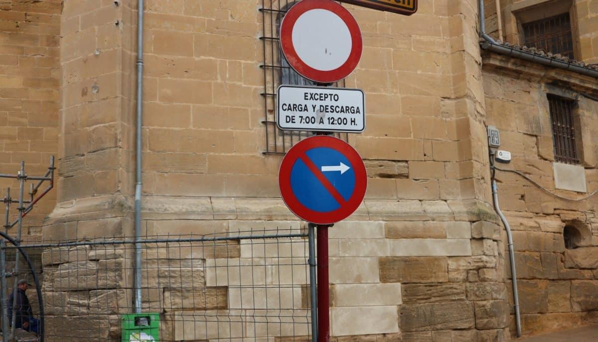 """El acceso a la plaza de la Iglesia de Haro estará """"restringido"""" 1"""