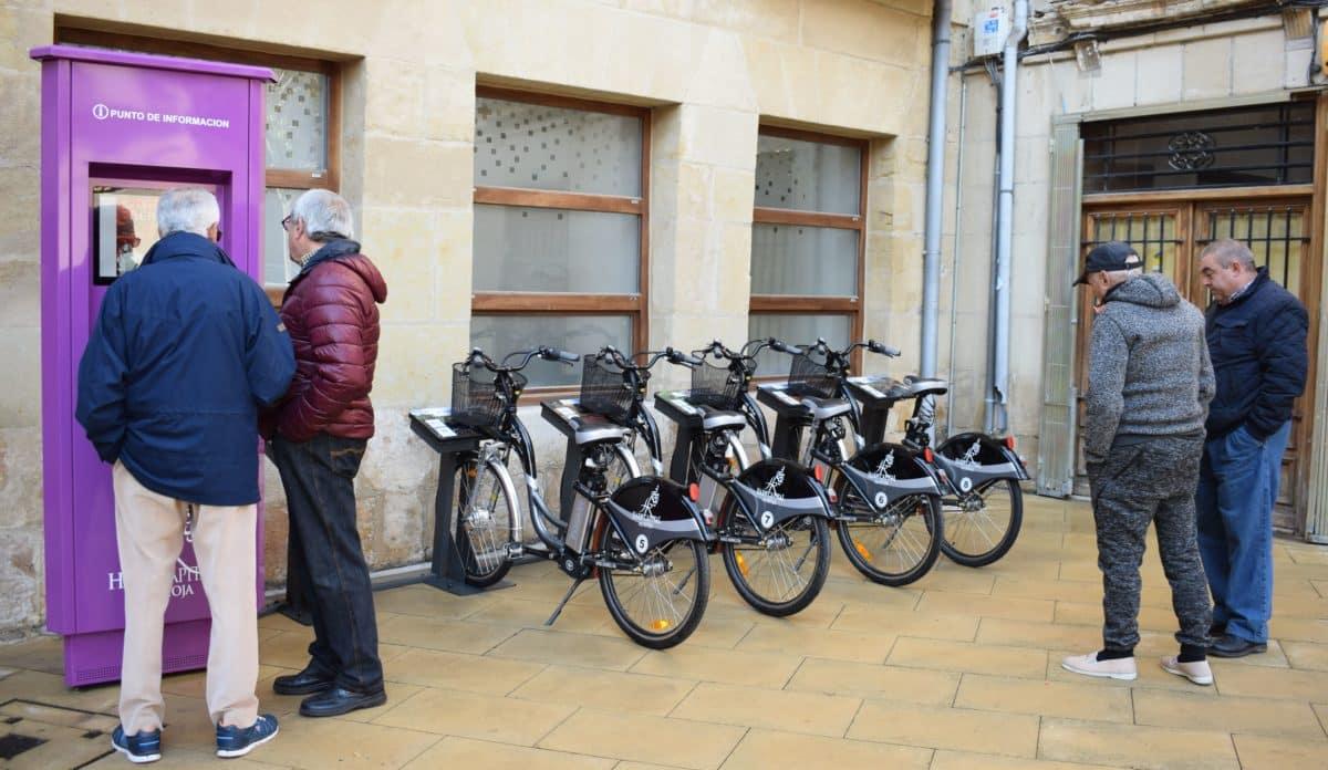 El Ayuntamiento de Haro pone en marcha el servicio de alquiler de bicicletas con meses de retraso 2