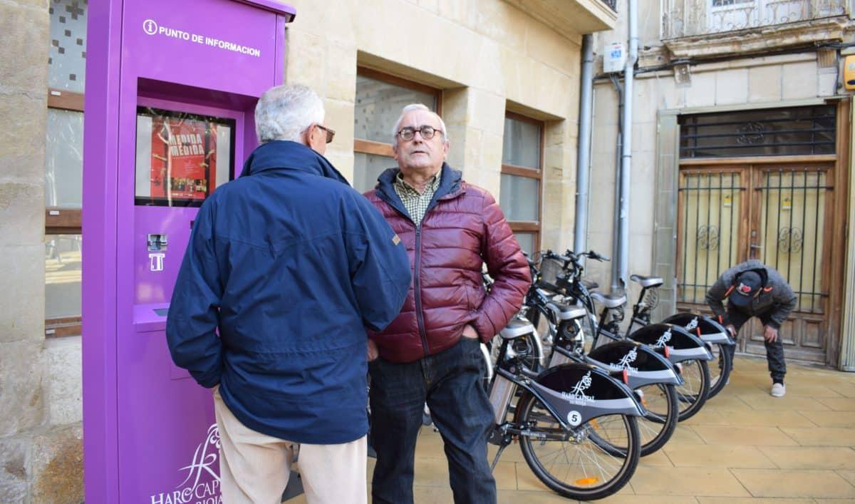 El Ayuntamiento de Haro pone en marcha el servicio de alquiler de bicicletas con meses de retraso 3
