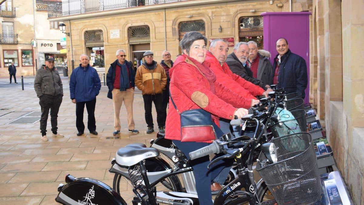 El Ayuntamiento de Haro pone en marcha el servicio de alquiler de bicicletas con meses de retraso 1